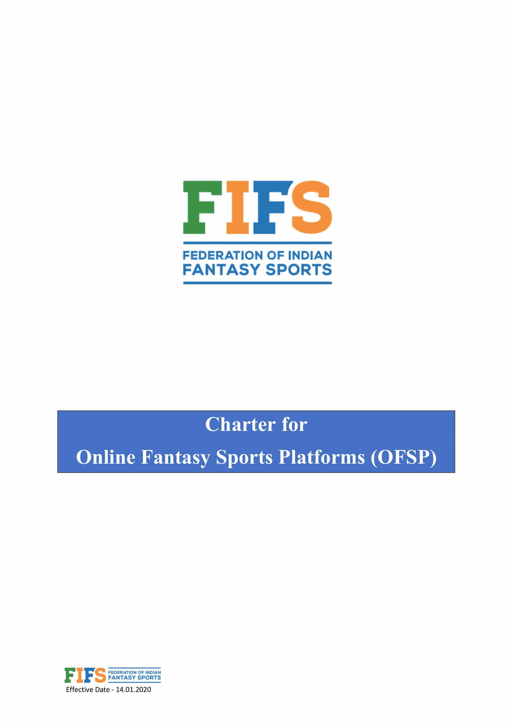 FIFS Charter page 1