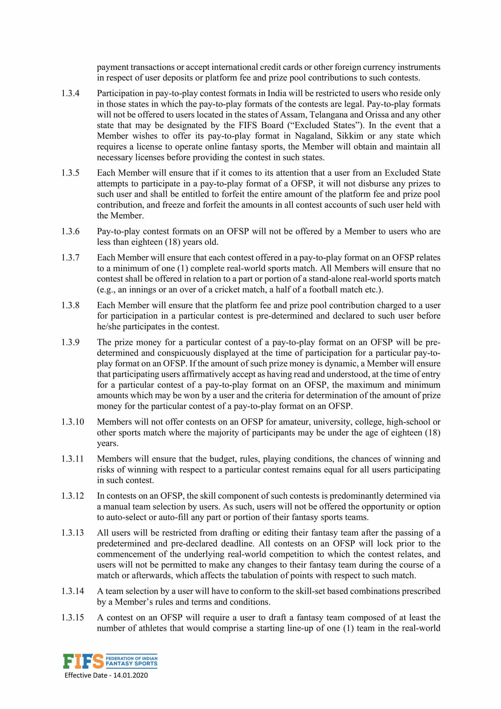 FIFS Charter Page 3